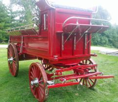 Red Hitch Wagon