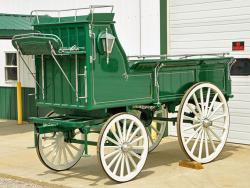 Green Hitch Wagon