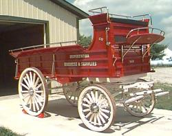 The Shipshewana Harness Hitch Wagon